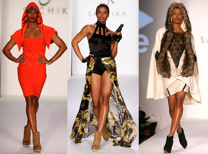 Eva Marcille for Sachika Fall 2012