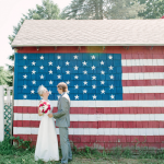 Vintage-inspired Americana wedding, Greenfield MA