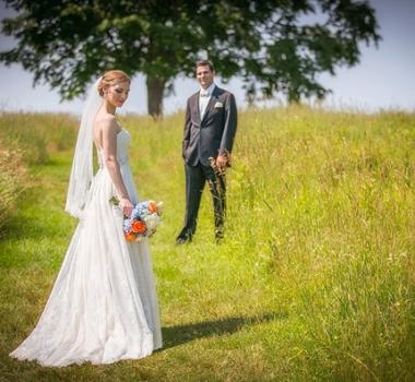 Leah's wedding at the Lord Jeffery Inn