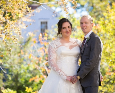 Mary's Wedding at Quonquont Farm in Whately, MA