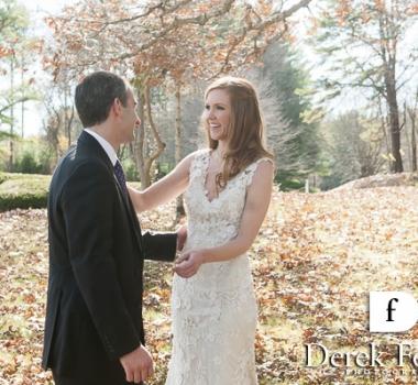 Melissa's November wedding at the Hotel Northampton