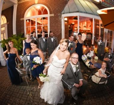 Ashley's wedding at the Hotel Northampton
